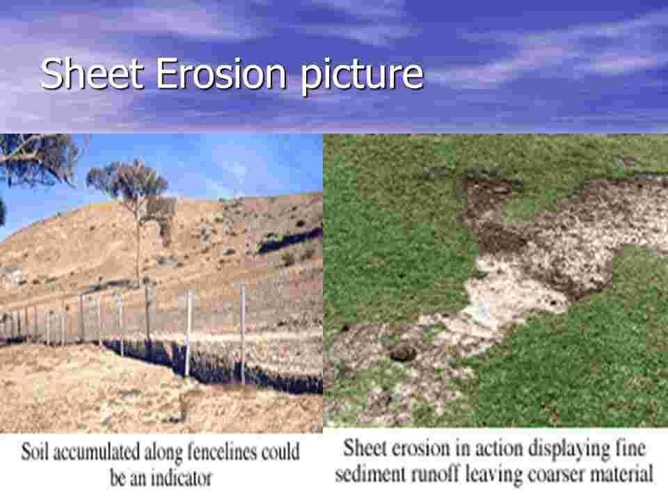Sheet Erosion - Len Academy