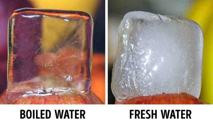 Ice cubes - Len Academy