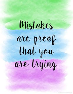 Quote on mistakes - Len Academy