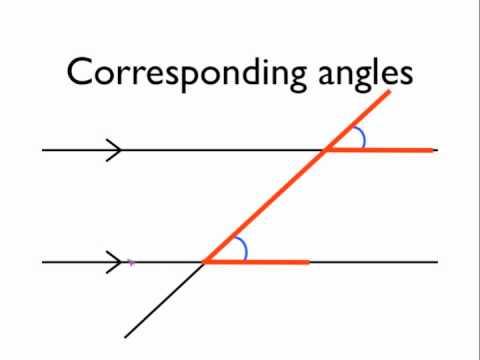 Corresponding Angles - Len Academy