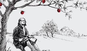 Isaac Newton Hit by Apple - Len Academy