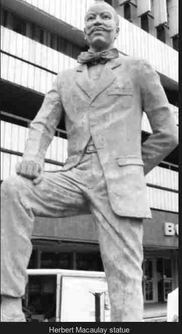 Herbert Macaulay statue, yaba - Len Academy