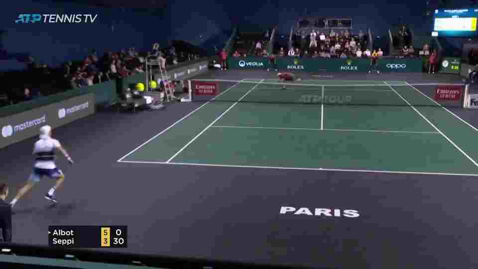 Tennis Court and Net - Len Academy
